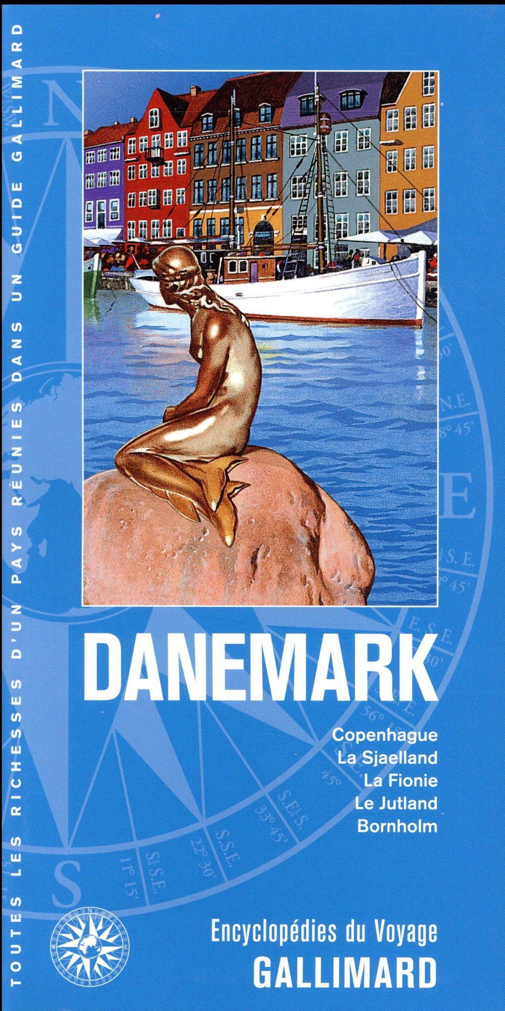 DANEMARK - COPENHAGUE, LA SJAELLAND, LA FIONIE, LE JUTLAND, BORNHOLM