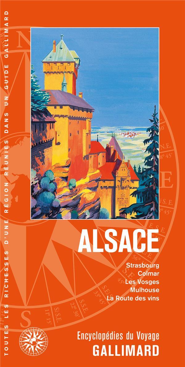 ALSACE - STRASBOURG, COLMAR, LES VOSGES, MULHOUSE, LA ROUTE DES VINS