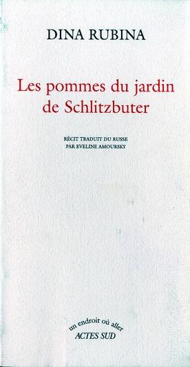 LES POMMES DU JARDIN DE SCHLITZBUTER