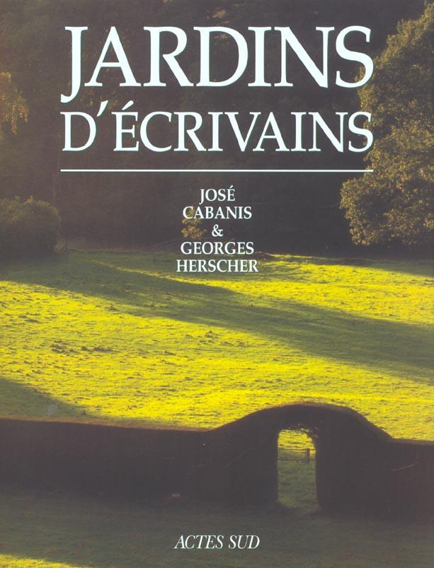 JARDINS D'ECRIVAINS