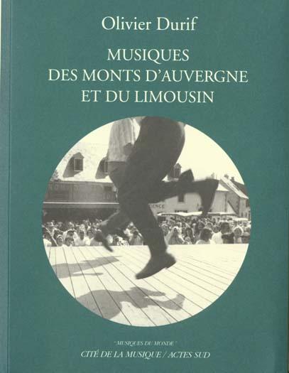 MUSIQUES DES MONTS D'AUVERGNE ET DU LIMOUSIN + 1CD