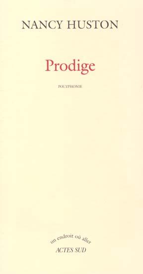 PRODIGE