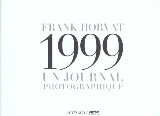 1999 UN JOURNAL PHOTOGRAPHIQUE