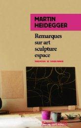 REMARQUES SUR ART SCULPTURE ESPACE - RP N 640