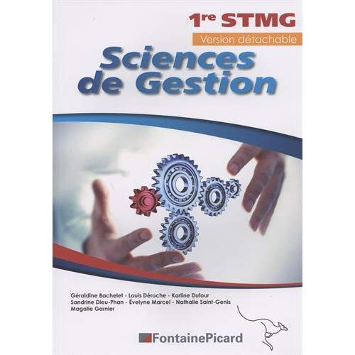 SCIENCES DE GESTION 1ERE STMG
