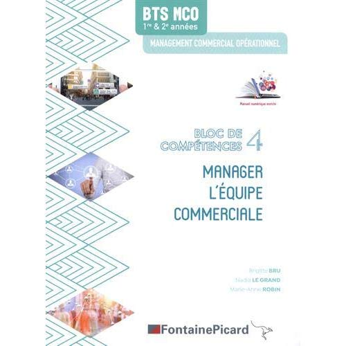 MANAGER L'EQUIPE COMMERCIALE BLOC 4 BTS MCO