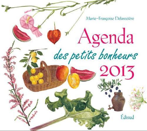 AGENDA DES PETITS BONHEURS 2013