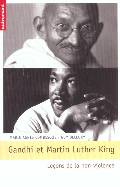 GANDHI ET MARTIN LUTHER KING