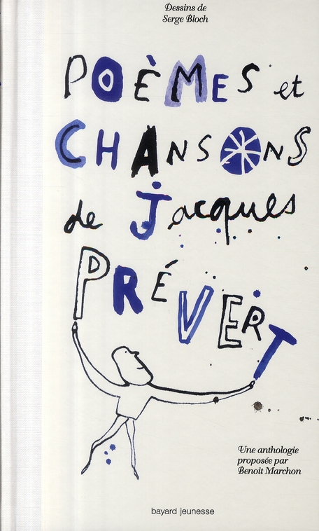 POEMES ET CHANSONS DE JACQUES PREVERT