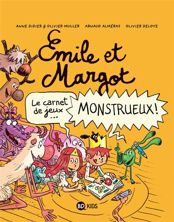 CAHIER DE JEUX EMILE ET MARGOT