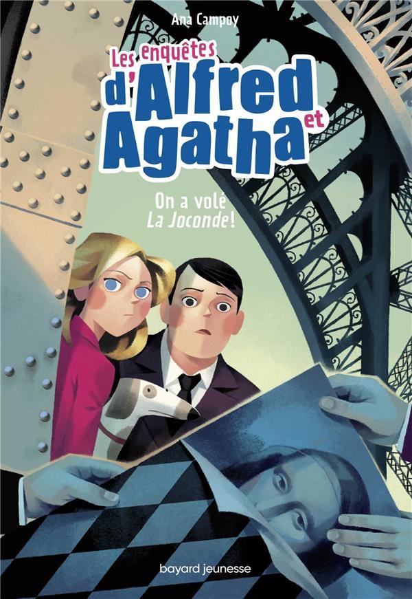 LES ENQUETES D'ALFRED ET AGATHA, TOME 08 - ON A VOLE LA JOCONDE