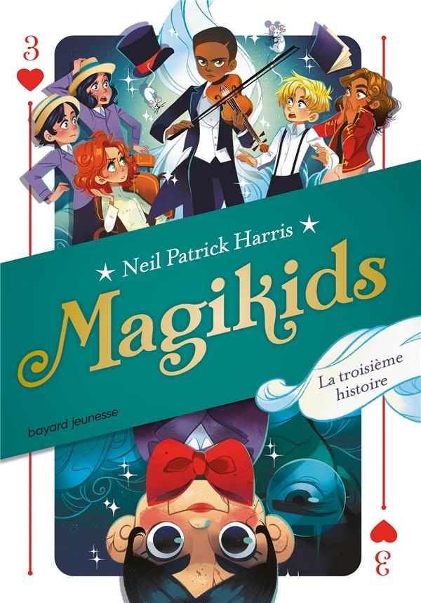 MAGIKIDS, TOME 03 - LE TROISIEME MOUVEMENT