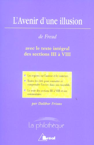 L AVENIR D UNE ILLUSION (FREUD)