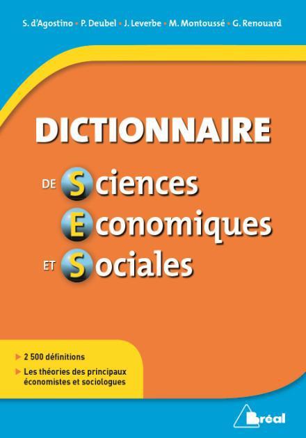 DICTIONNAIRE DE SCIENCES ECONOMIQUES ET SOCIALES