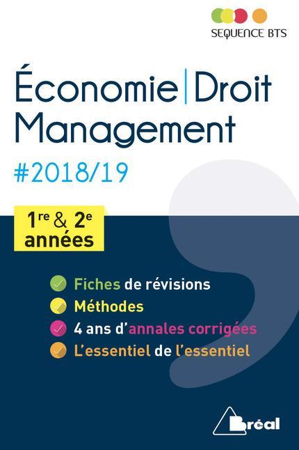 ECONOMIE DROIT MANAGEMENT 2018-2019 1ERE ET 2E ANNEES
