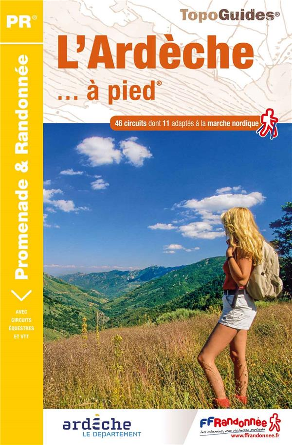 L'ARDECHE A PIED - REF. D007