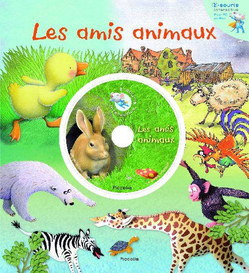 E-SOURIS INTERACTIVE/LES AMIS ANIMAUX