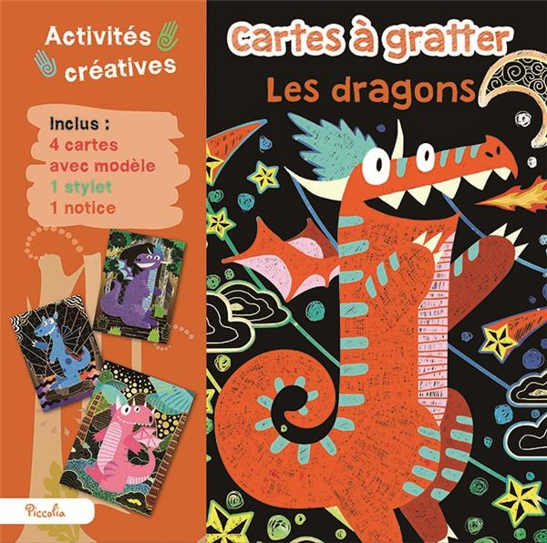 CARTES A GRATTER FANTASY/DRAGONS