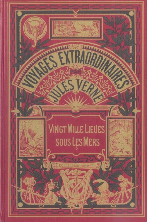 VOYAGES EXTRAORDINAIRES - VINGT MILLE LIEUES SOUS MERS TOME 1