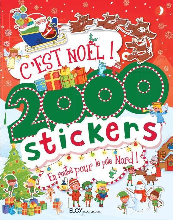 C'EST NOEL ! 2000 STICKERS