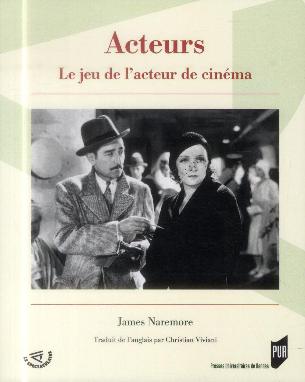 ACTEURS LE JEU DE L'ACTEUR DE CINEMA