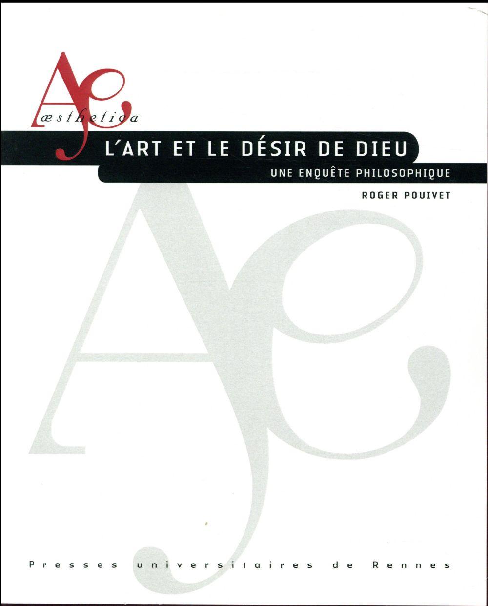 L ART ET LE DESIR DE DIEU