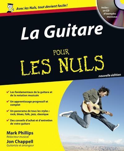 LA GUITARE POUR LES NULS 2ED + CD