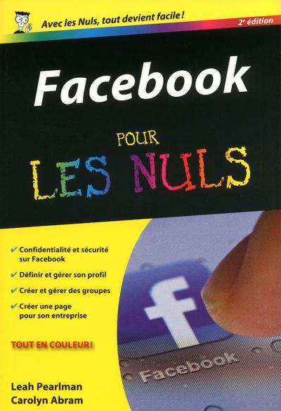 FACEBOOK 2ED POCHE POUR LES NULS