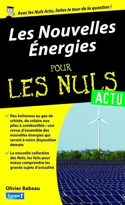 NOUVELLES ENERGIES POUR LES NULS ACTU