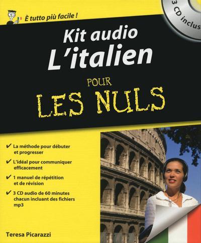 KIT AUDIO L'ITALIEN POUR LES NULS