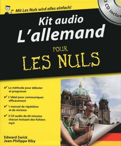 KIT AUDIO L'ALLEMAND POUR LES NULS