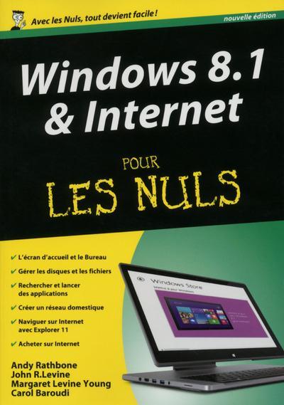WINDOWS 8.1 & INTERNET - MEGAPOCHE POUR LES NULS 2ED