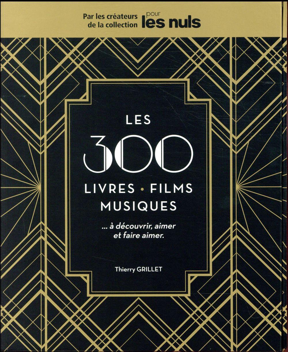 COFFRET LES 300 FILMS, LIVRES, MUSIQUES, A DECOUVRIR, AIMER ET FAIRE AIMER POUR LES NULS