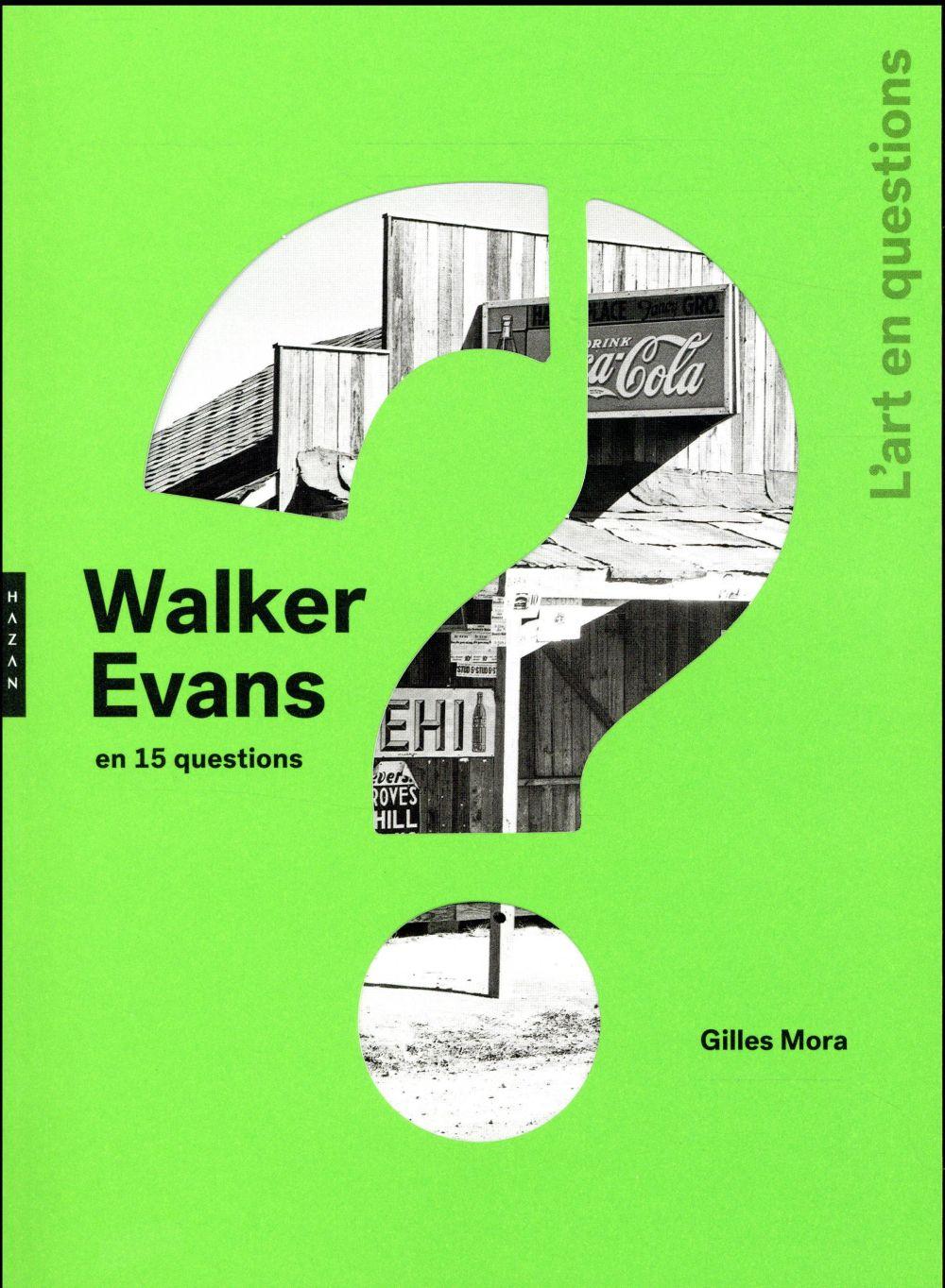 WALKER EVANS EN 15 QUESTIONS