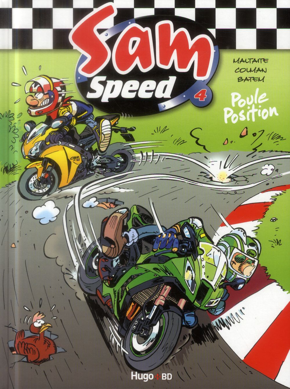 SAM SPEED TOME 4 POULE POSITION