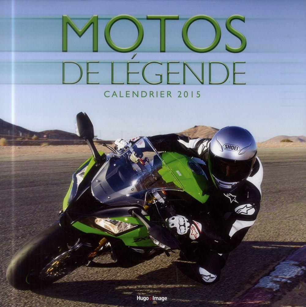 CALENDRIER MURAL MOTOS DE LEGENDE 2015