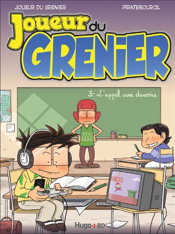 LE JOUEUR DU GRENIER T03