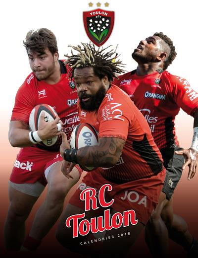 CALENDRIER MURAL RUGBY CLUB TOULON 2018