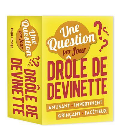 UNE QUESTION PAR JOUR DROLE DE DEVINETTE 2018
