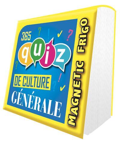 MAGNETIQUE FRIGO 365 QUIZ DE CULTURE GENERALE 2022