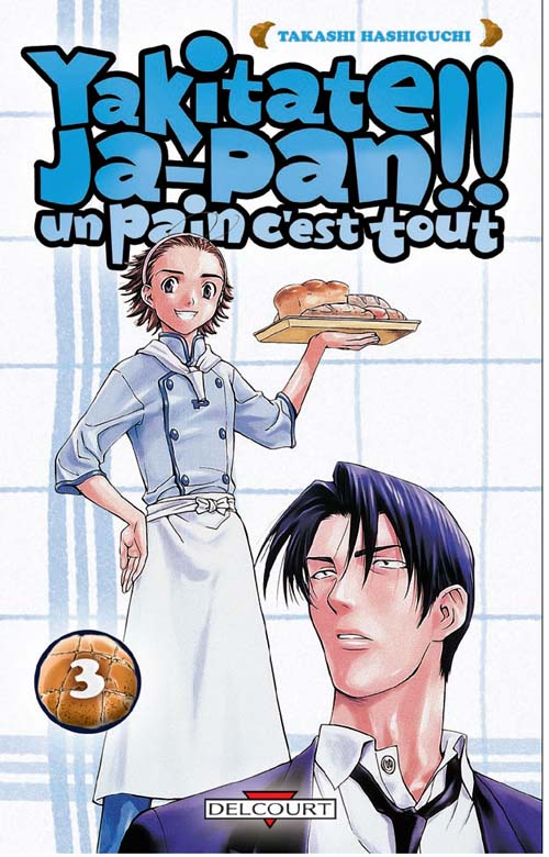 YAKITATE JAPAN T03 UN PAIN C'EST TOUT