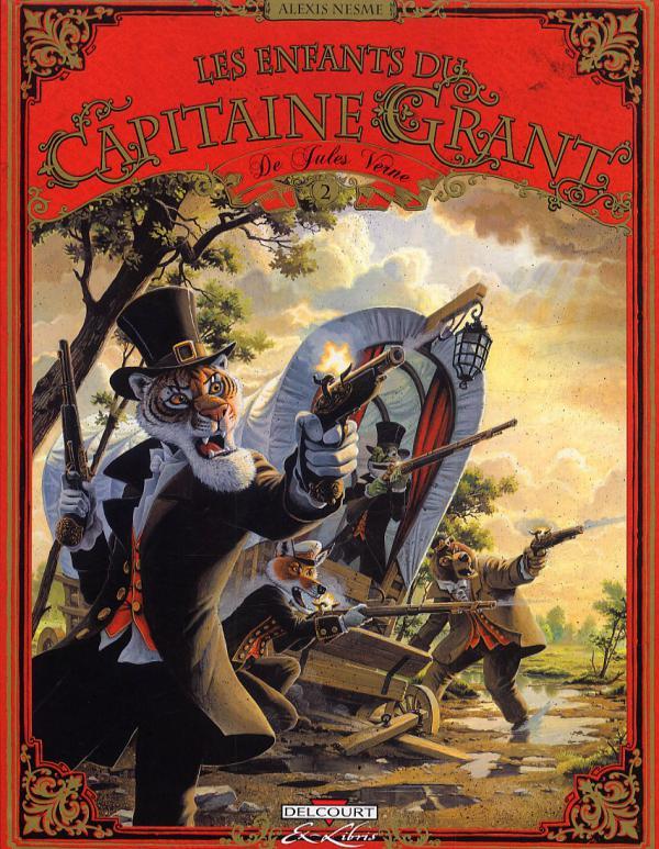 ENFANTS DU CAPITAINE GRANT DE J. VERNE T02