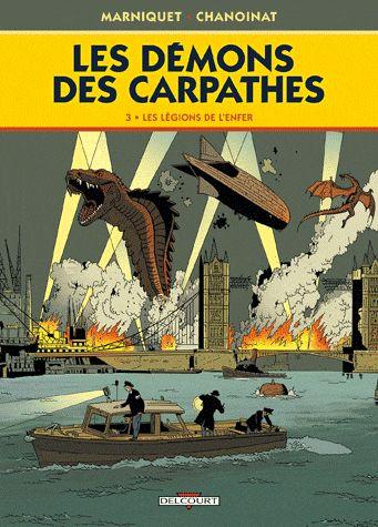 DEMONS DES CARPATHES T03 LES LEG DE L'ENFER