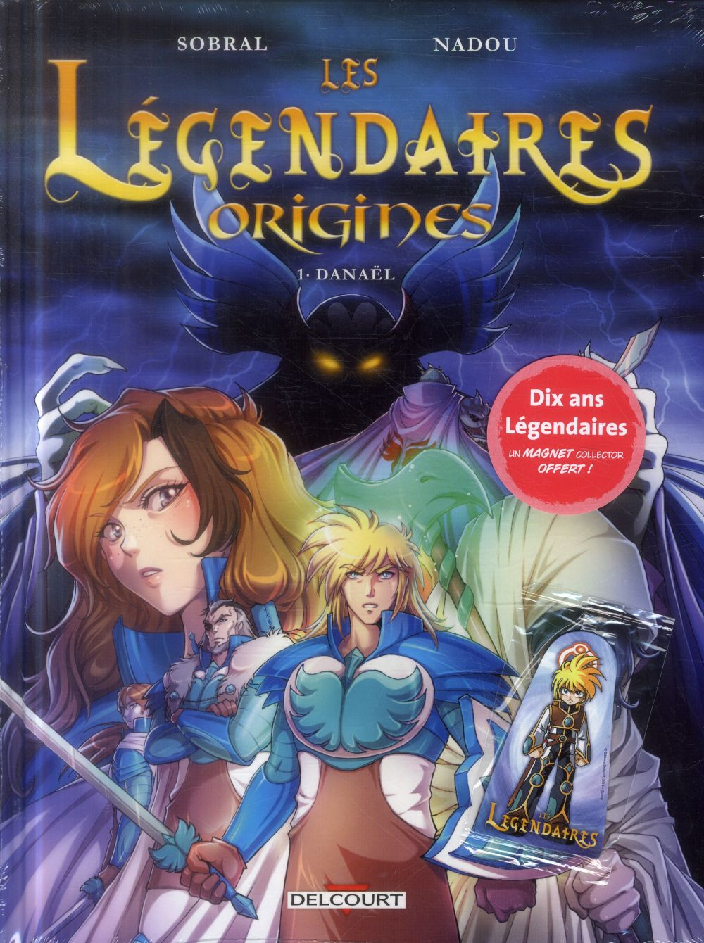 LES LEGENDAIRES ORIGINES 1 DANAEL