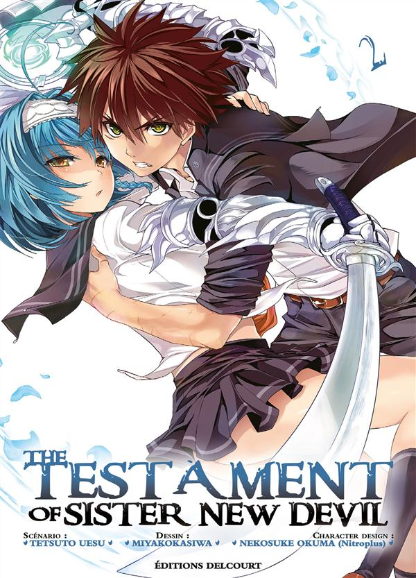 THE TESTAMENT OF SISTER NEW DEVIL T2