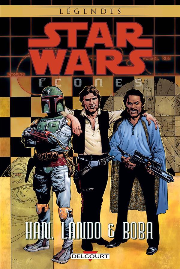 STAR WARS - ICONES T05. HAN, LANDO & BOBA