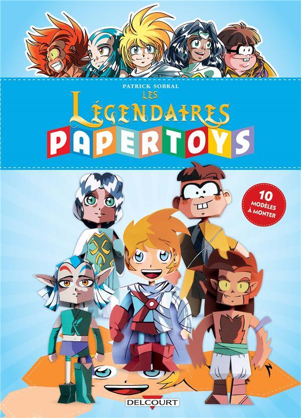 LES LEGENDAIRES - PAPERTOYS