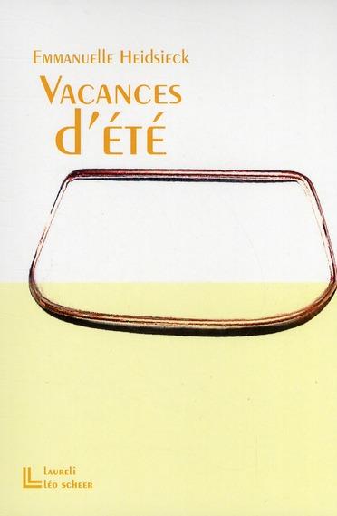 VACANCES D'ETE