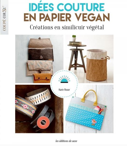 COUTURE FACILE EN PAPIER VEGAN