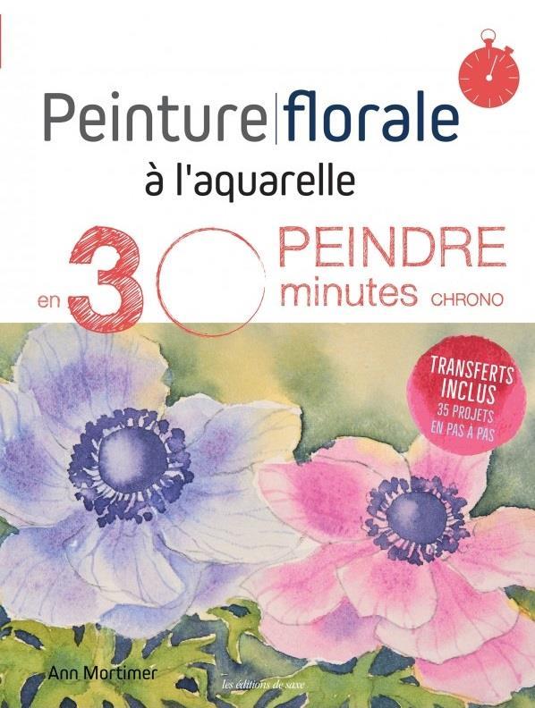 PEINTURE FLORALE A L'AQUARELLE